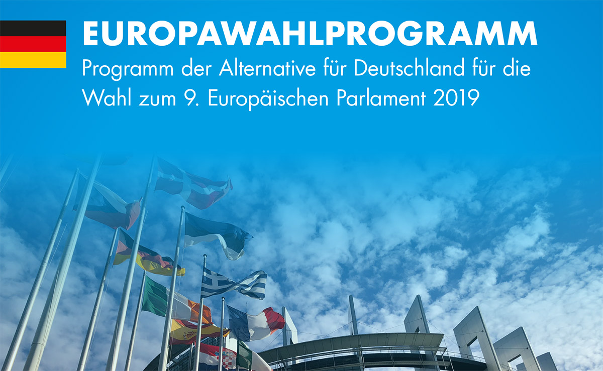 AfD Europawahlprogramm 2019