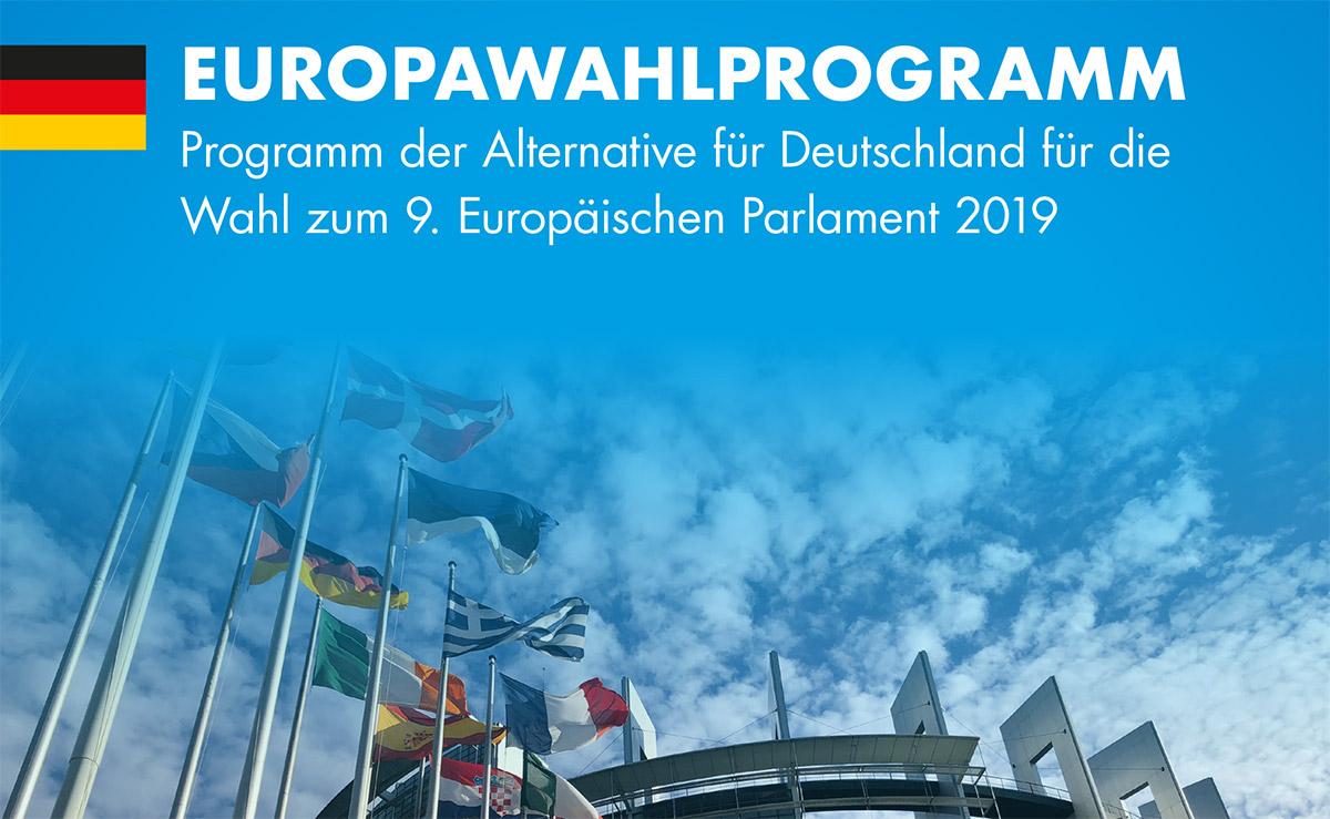 AfD Europawahlprogramm 2019