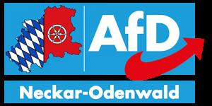 Logo AfD Kreisverband Neckar-Odenwald-Kreis