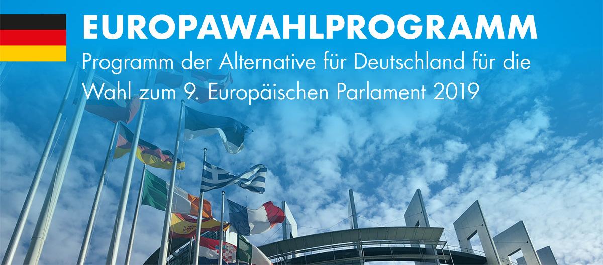 AfD Europawahlprogramm