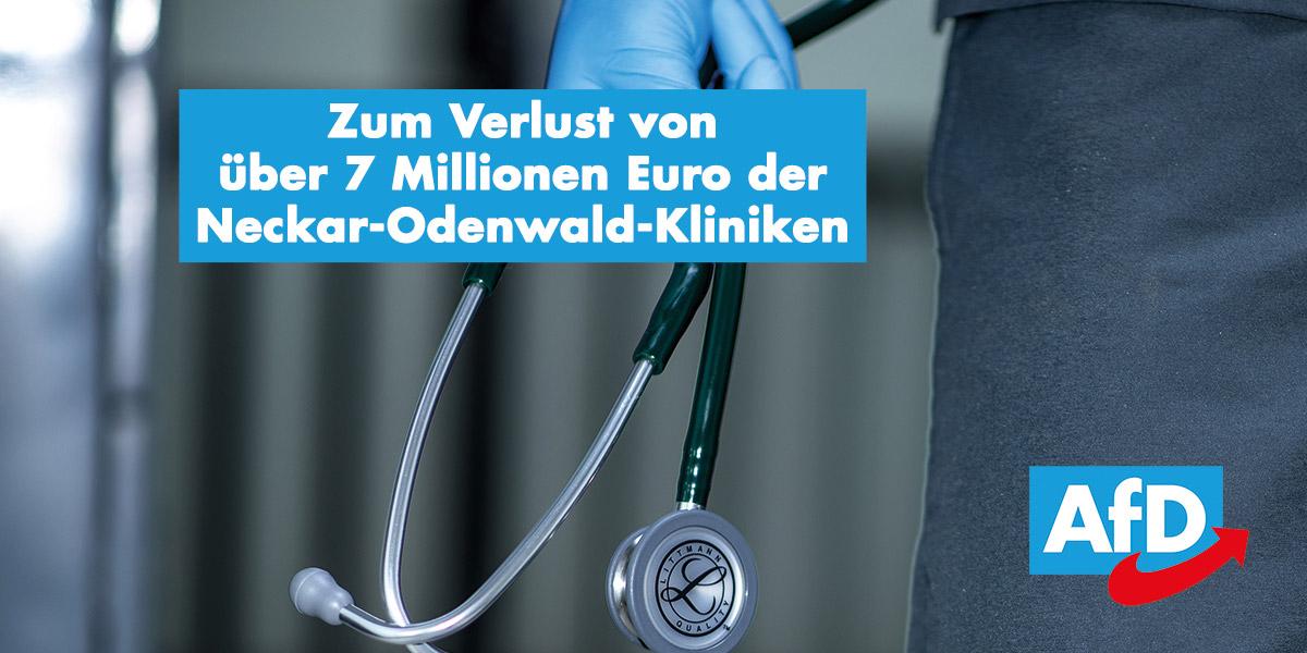 Zum Millionen-Verlust der Neckar-Odenwald-Kliniken
