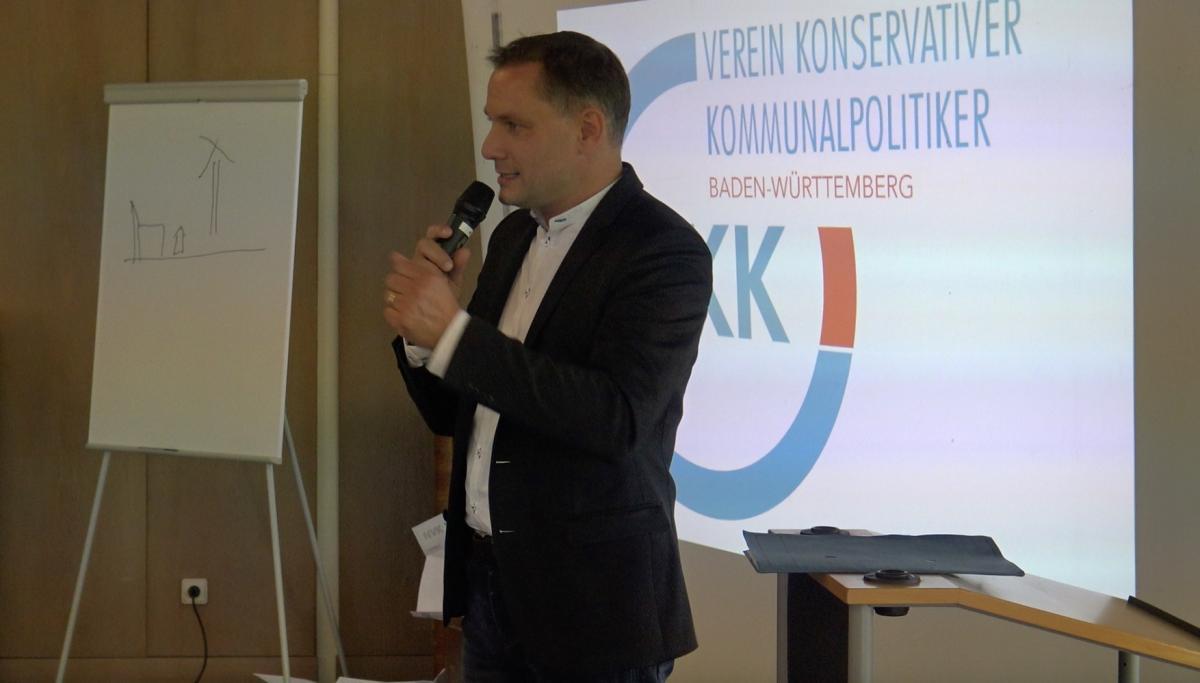 Tino Chrupella beim VKK BW