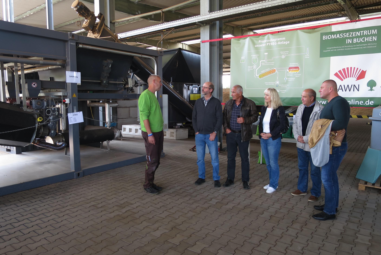 AfD besucht Abfallwirtschaft