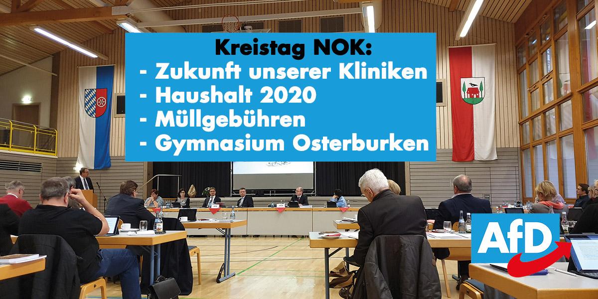 Kreistag Neckar-Odenwald im Dezember 2019