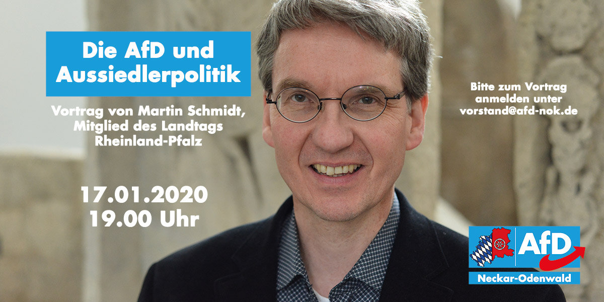 Die AfD und Aussiedlerpolitik mit Martin Schmidt (MdL)