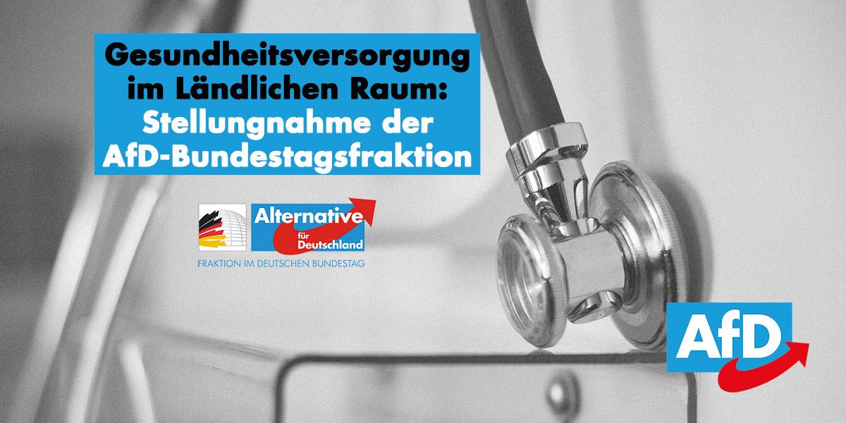 Stellungnahme der AfD-Bundestagsfraktion zu den Neckar-Odenwald-Kliniken