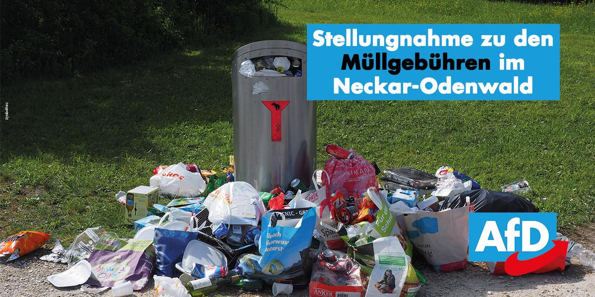 Müllgebühren: wahre Gründe für Kostensteigerungen