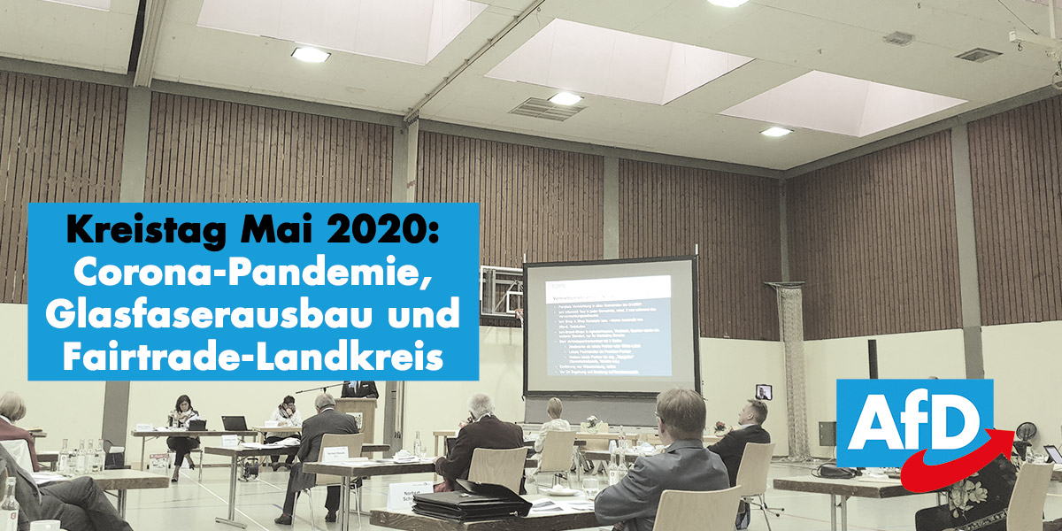 Kreistag im Mai 2020