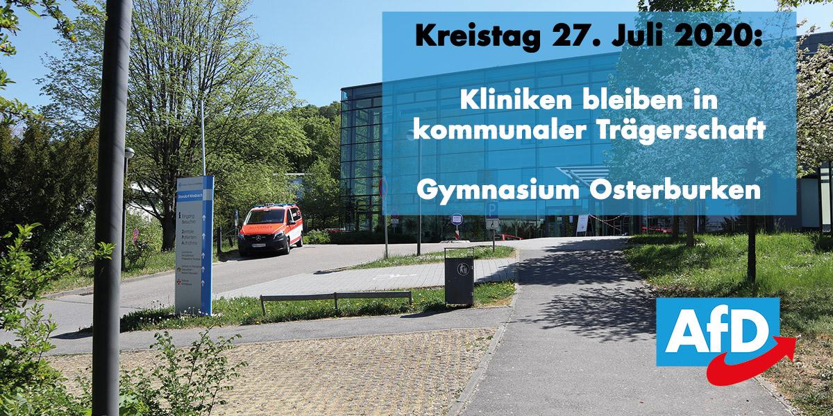 Kreistag: Kliniken bleiben in kommunaler Trägerschaft & Neubau Gymnasium Osterburken