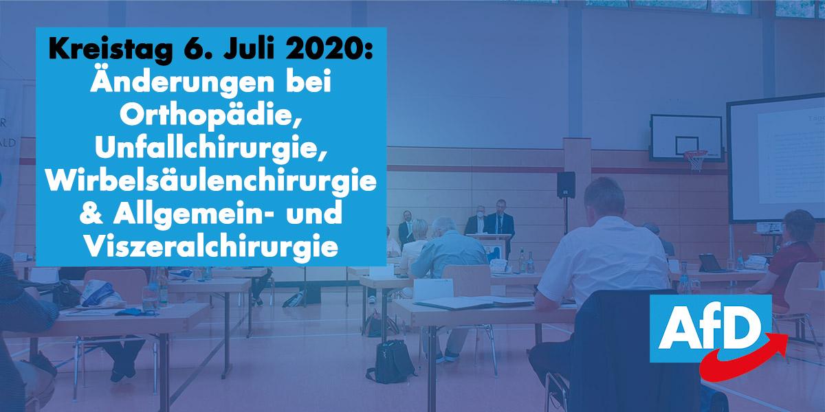 Kreistag: Klinikumstrukturierung (Chirurgie) und regionale Bio-Zertifizierung