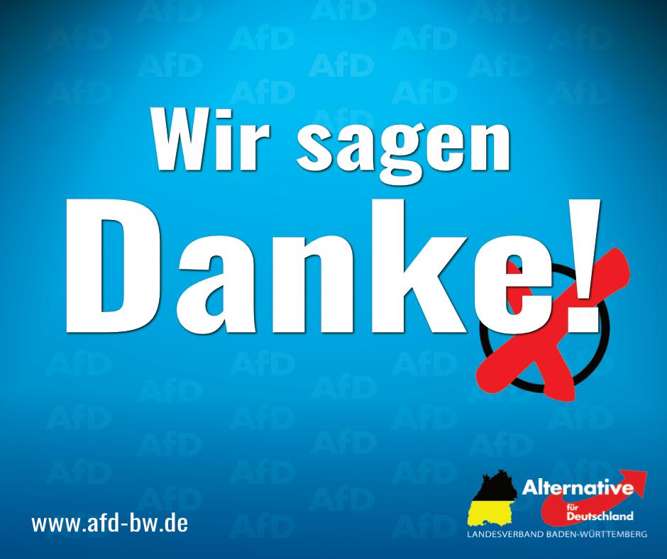 Landtagswahl 2021: Danke!